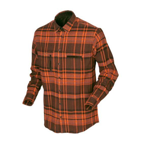 Härkila Eide orange skjorte NY MODEL