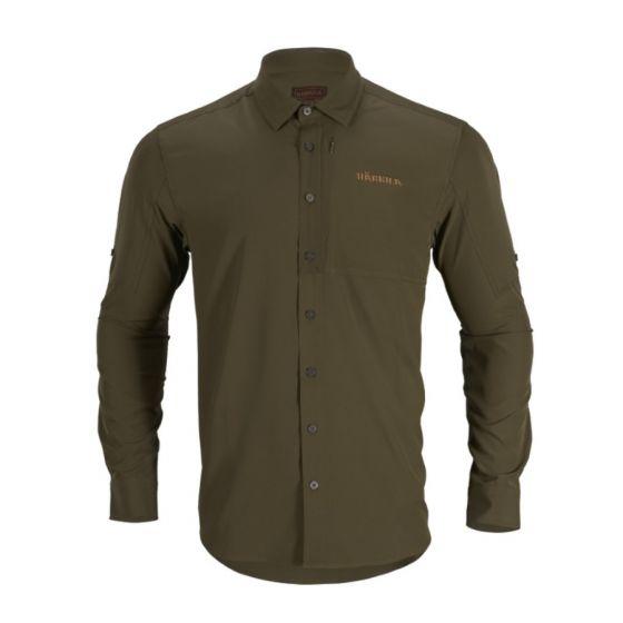 Härkila Trail L/S Willow Green skjorte