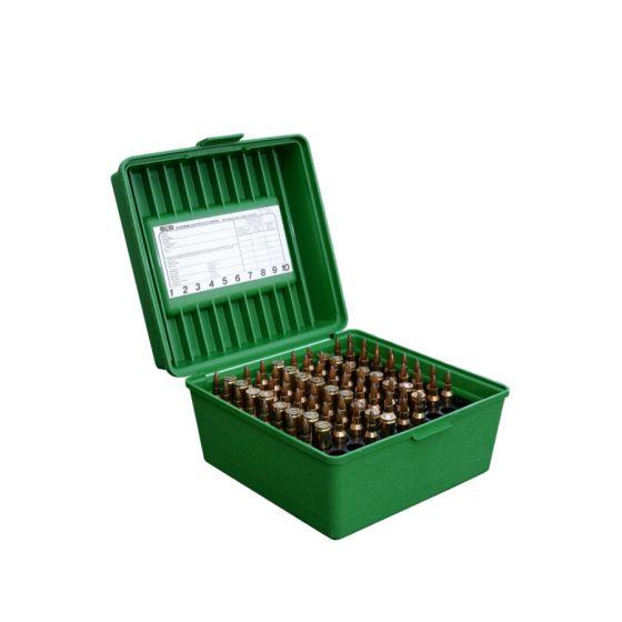 MTM Case Guard R-100 ammunitionsboks med håndtag R - 22-250-375 H&H MAG