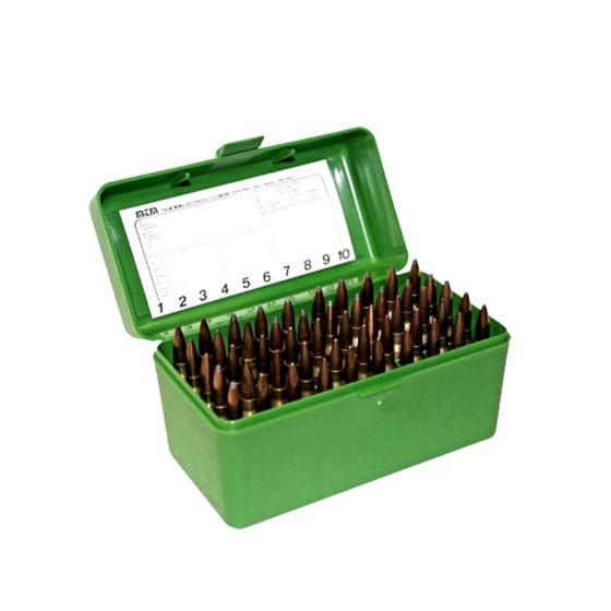 MTM Case Guard R-50 ammunitionsboks med håndtag RS - .17-223 WIN