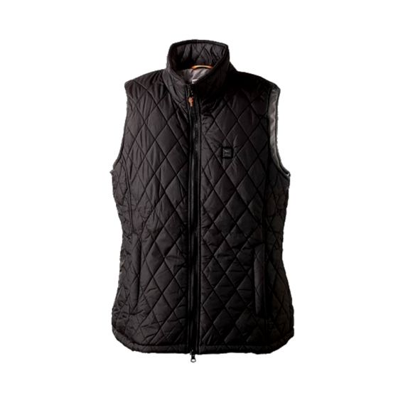 Nordic Heat quiltet vest med el-varme, damemodel