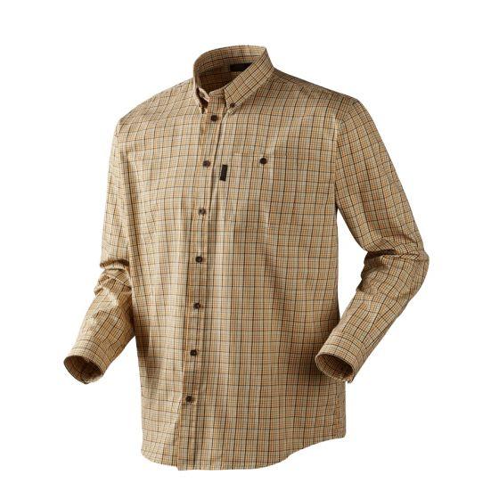 Seeland River White Asparagus Check skjorte