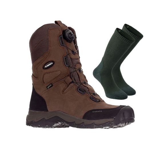 "Treksta Lynx BOA GTX 10"" støvler inkl. gratis 2-pak Deerhunter Cool Max strømper"