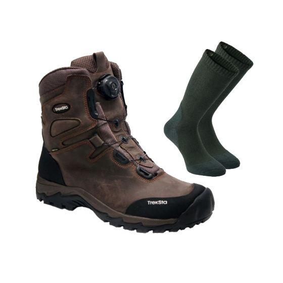 "Treksta Lynx BOA GTX 8"" støvler inkl. gratis 2-pak Deerhunter Cool Max strømper"