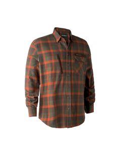 Deerhunter Ethan skjorte Orange Check