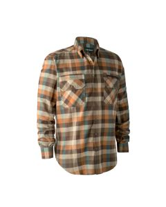 Deerhunter James skjorte Brown Check