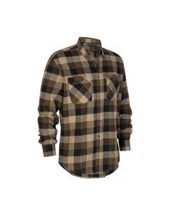 Deerhunter Marvin bomuld skjorte Green Check