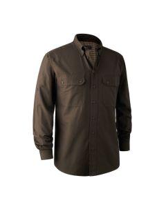 Deerhunter Reyburn Bamboo Space Green skjorte