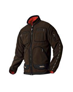 Härkila Kamko vendbar fleece jakke