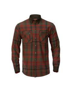 Härkila Pajala Red Autum Check skjorte