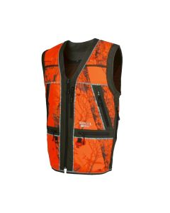 Härkila Lynx Safety vest Willow Green/AXIS MSP Blaze