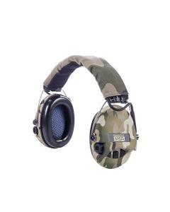 MSA Sordin Supreme Pro-X LED elektroniske høreværn camouflage