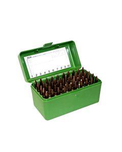 MTM Case Guard R-50 ammunitionsboks med håndtag RMAG - 375-458
