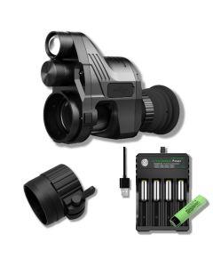 PARD NV007A inkl. Snap On adapter og oplader med 1 batteri