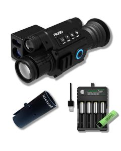 PARD NV008P LRF inkl. Sunshade og oplader med 1 batteri
