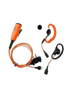 ProEquip PRO-U610LS/LA Headset til Icom og Peltor jagtradio
