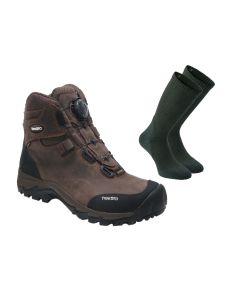 Treksta Lynx BOA Mid GTX støvler inkl. gratis 2-pak Deerhunter Cool Max strømper