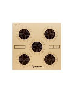 WildGame skydeskive 5-plet 14x14 cm