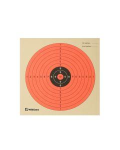 WildGame skydeskive rød 14x14 cm