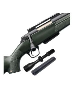 Winchester XPR Stealth 308W + Jaeger 3-12x56 m/lys + Schultz & Larsen Ultradome